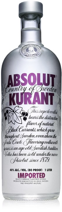 Absolut Vodka Kurant 70cl