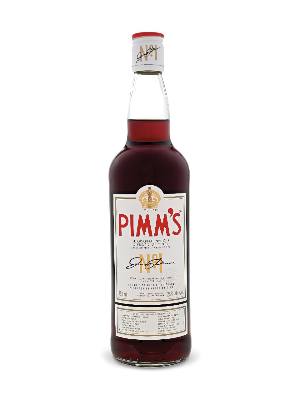 Pimms No 1 70cl