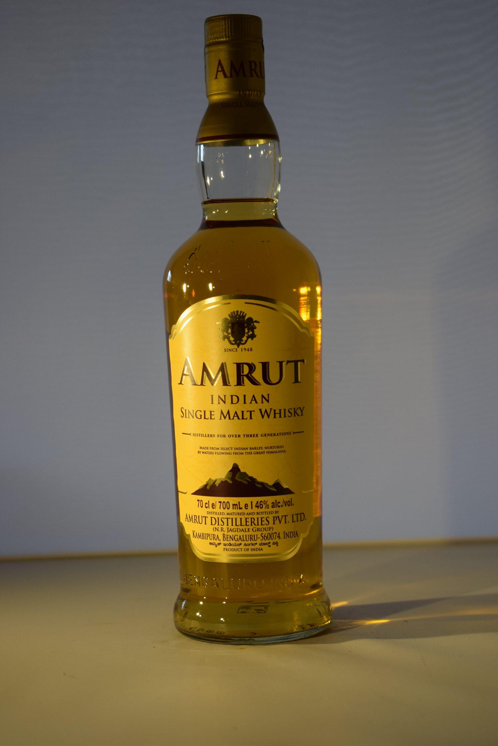 Amrut Indian Single Malt Whiskey 70CL