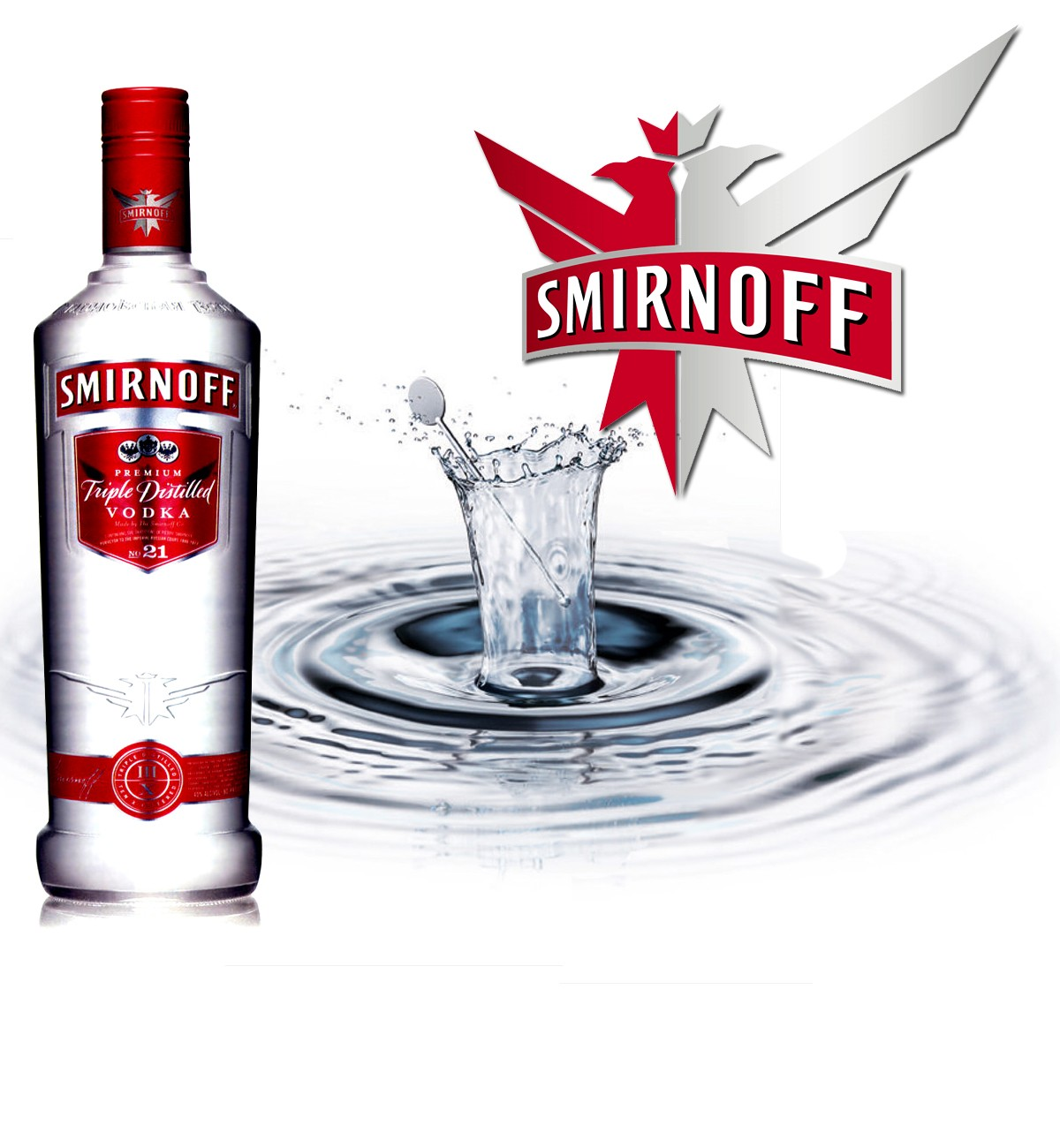 Smirnoff Vodka 70cl
