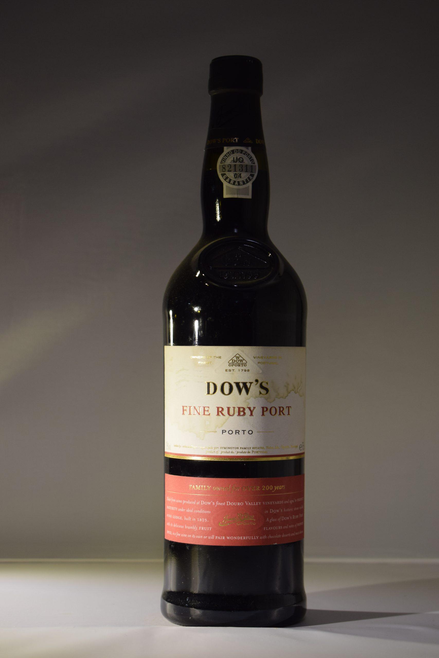 Dows Fine Ruby Port