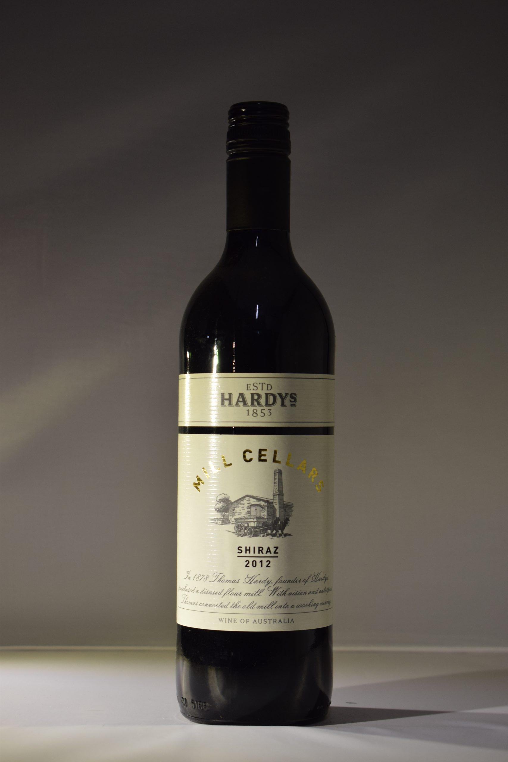 Hardys Mill Cellars Shiraz 2012
