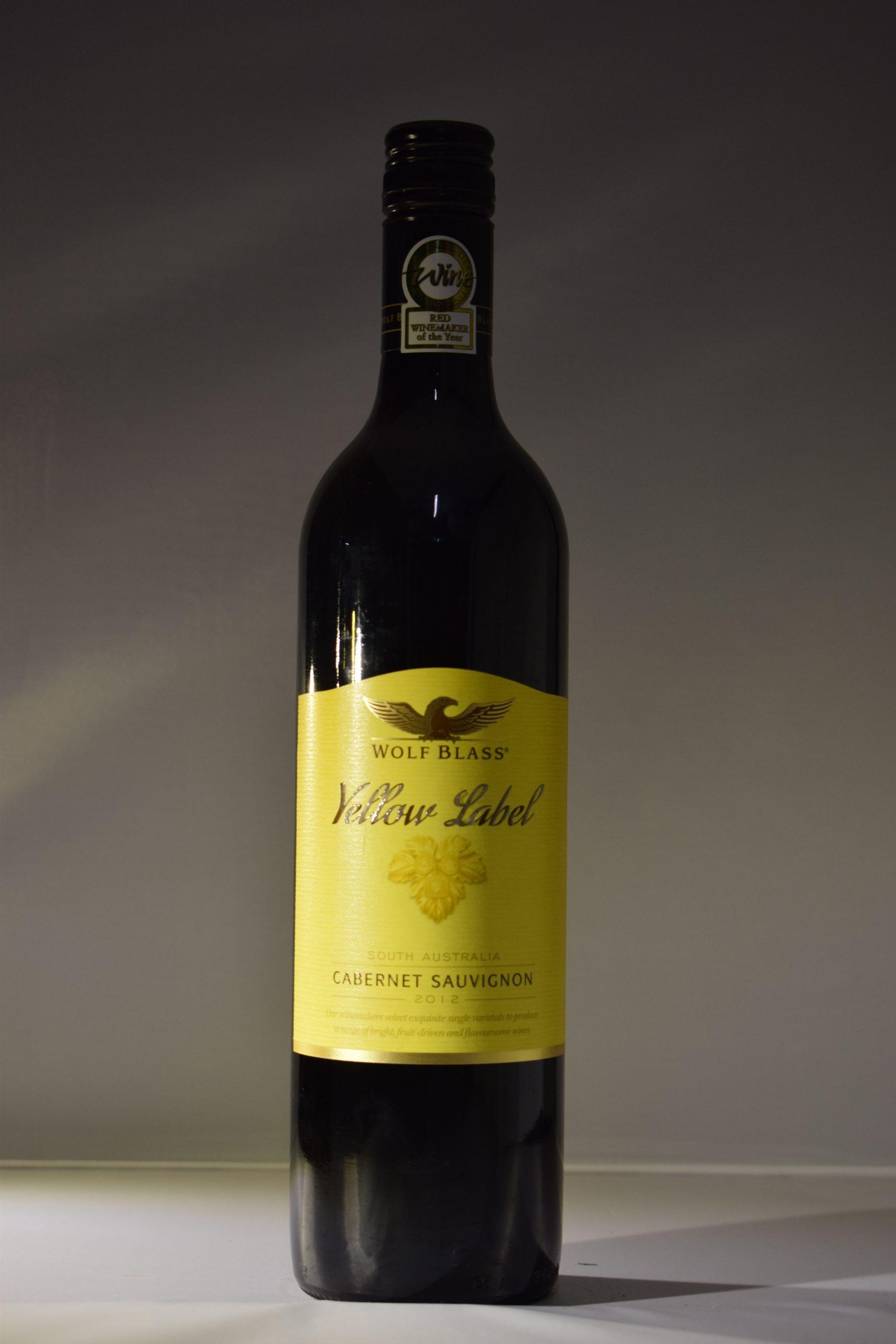 Wolf Blass Yellow Label Cabernet Sauvignon 2012