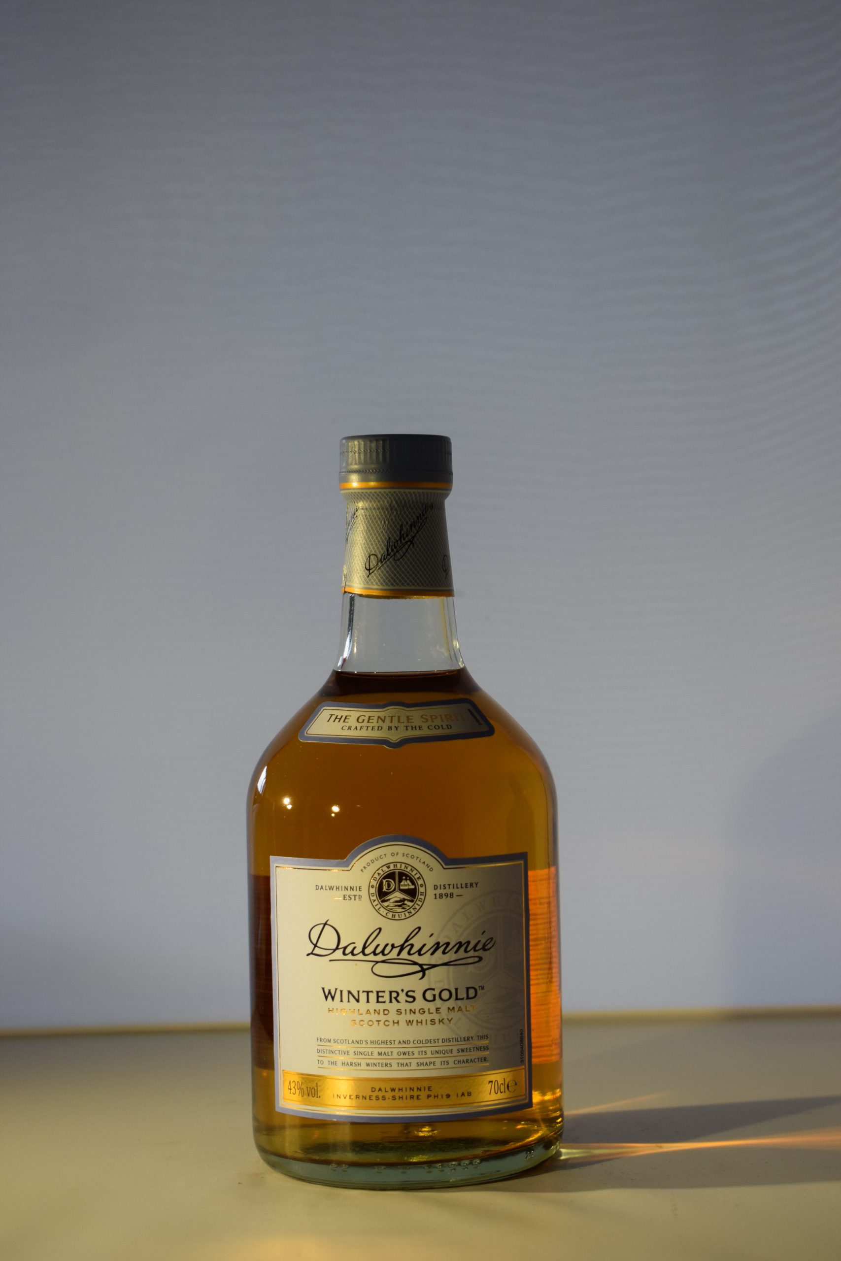 Dalwhinnie Winter's Gold Single Malt Scotch Whiskey 70CL