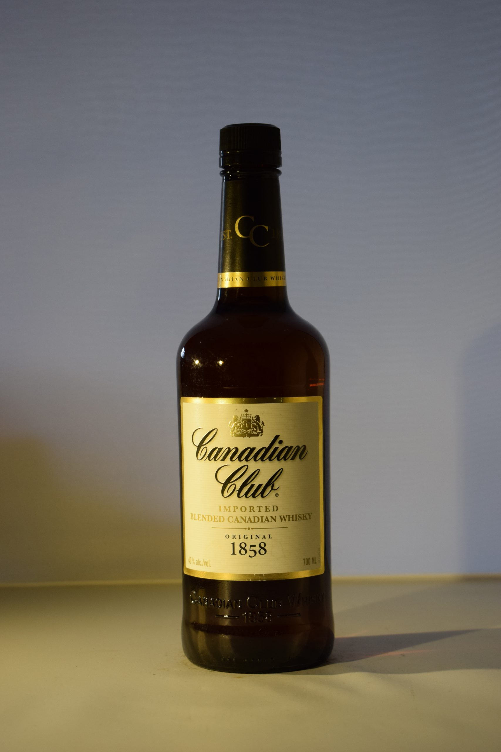 Canadian Club Blended Whiskey 70CL