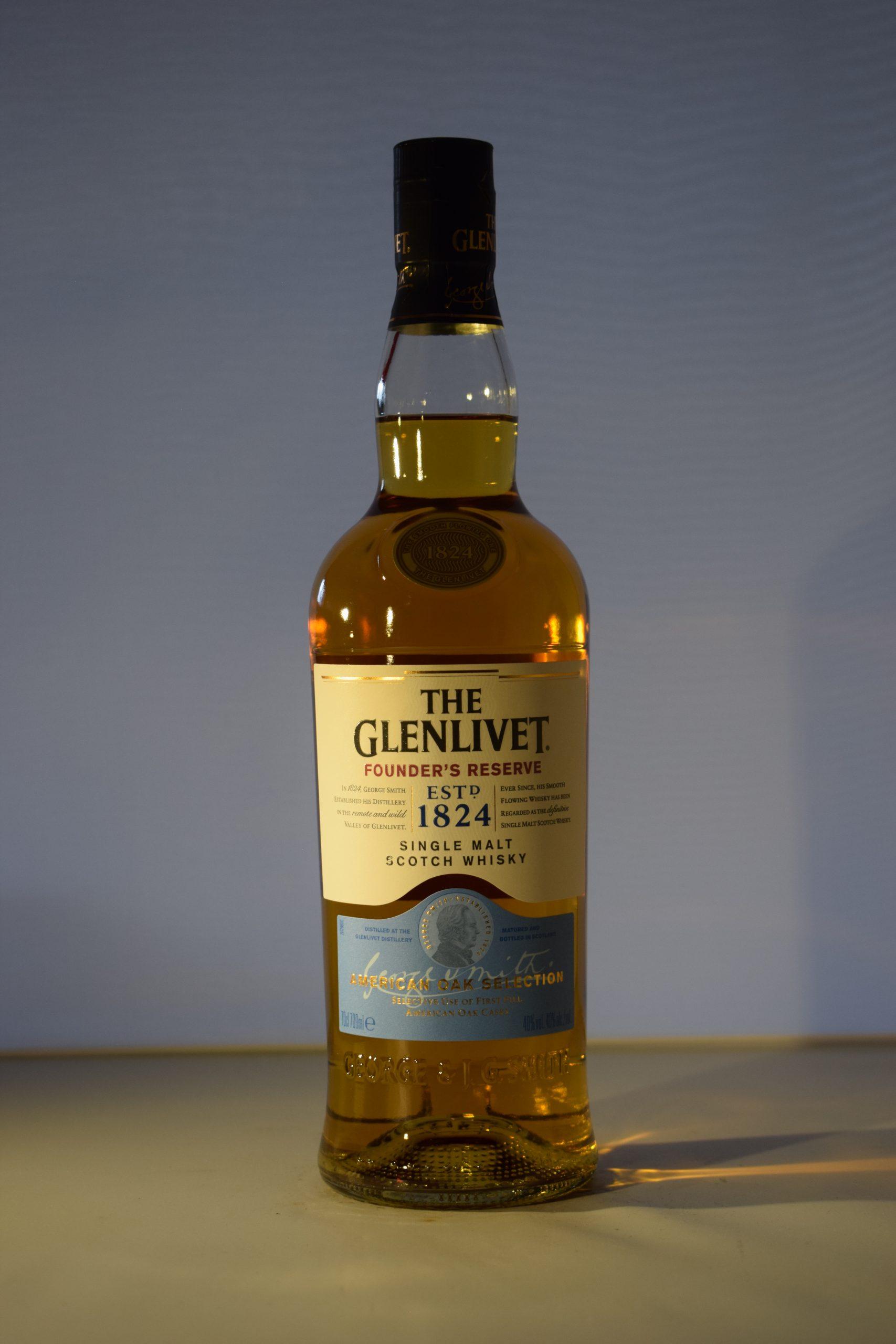 The Glenlivet Founder's Reserve Single Malt Scotch Whiskey 70CL
