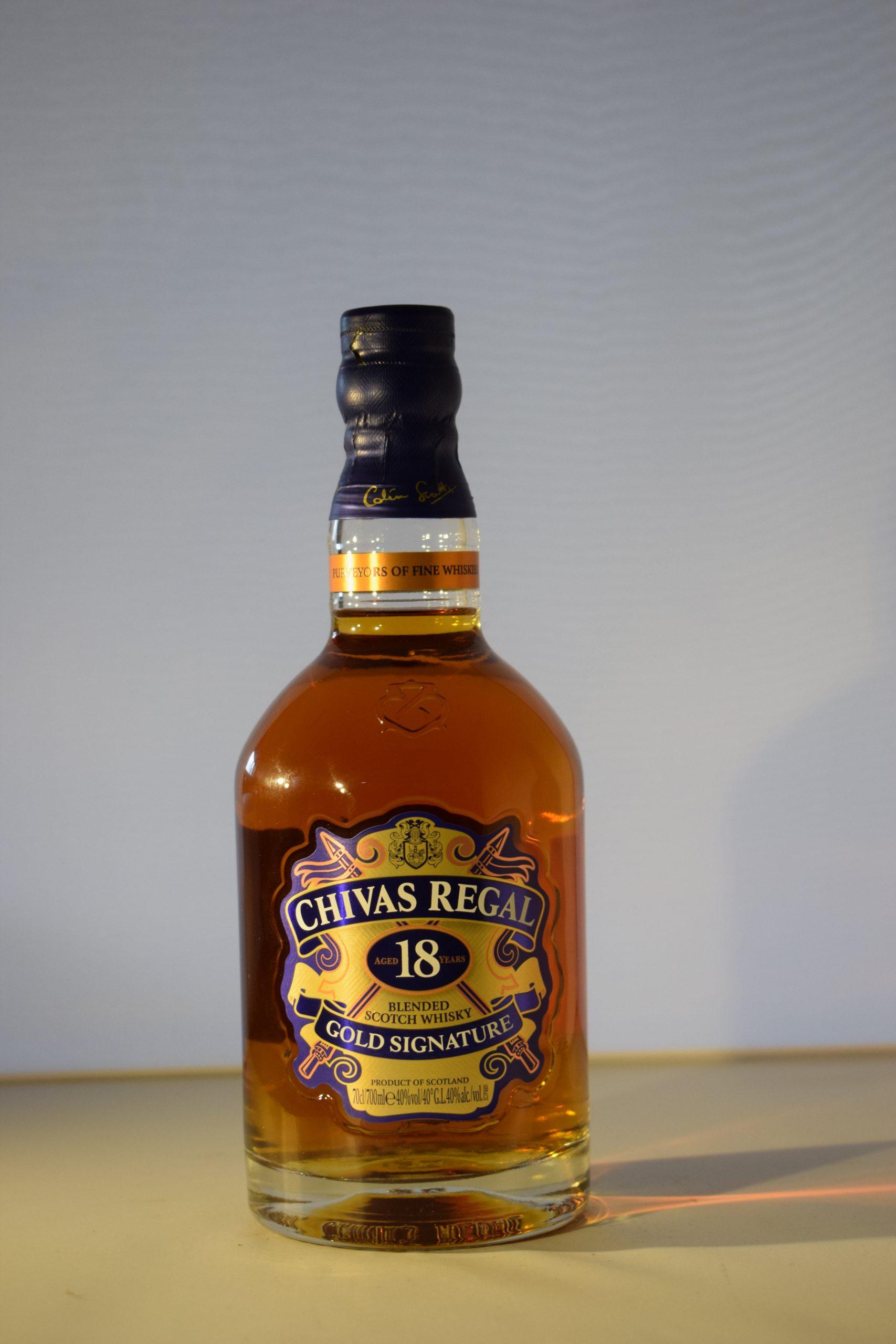 Chivas Regal Gold Signature 18 Year 70CL